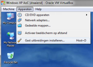 guest additions for virtualbox