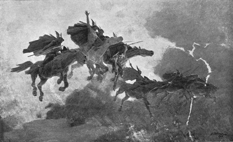 The Ride of the Valkyrs - H. A. Guerber (1909)