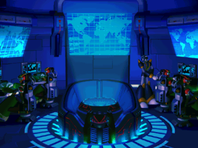 Hunter base shot from Mega Man X5