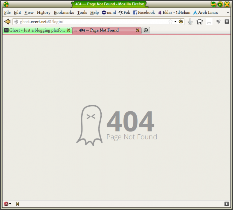 404 ghost
