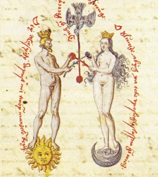 St Germain, sacred marriage in Alchemy