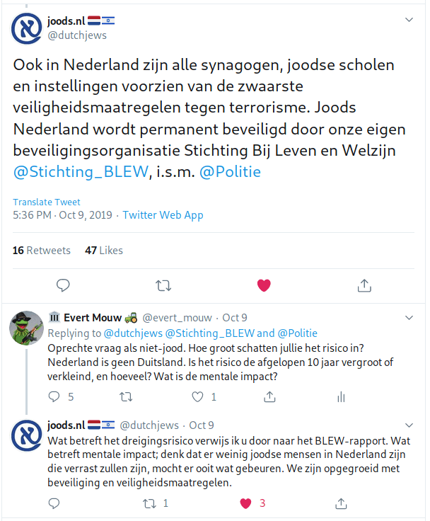 Screenshot van Twitter.