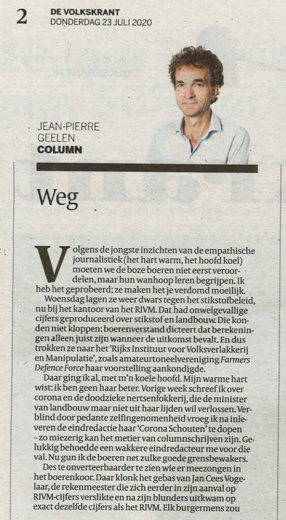 Scan column deel 1